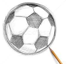 soccer football ball and pencil stock photo konstantin li