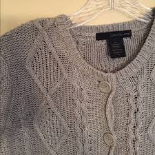 calvin klein sale 20 nwot cable knit swing sweater from