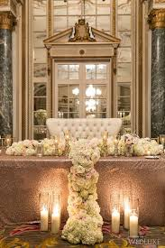 Wedding Head Table Decorations by Best 20 Bridal Table Decorations Ideas On Pinterest Bridal