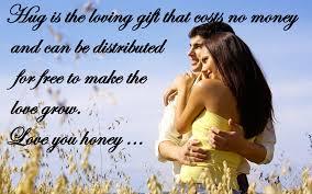 Cute Love Couple Quotes by Happy Hug Day 2017 Poems Cute Love Shayari Romantic Whatsapp