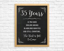 35 wedding anniversary gift simple 35th wedding anniversary gift b79 on images collection m36