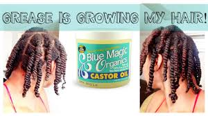 greaser hairstyle product back to basics blue magic helping retain length p 1 youtube