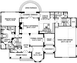 shingle style floor plans plan w9392el shingle style beauty with english garden e
