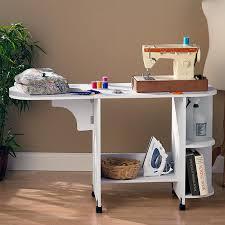Sullivans Home Hobby Table Sullivans Portable Sewing Desk Hayneedle