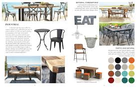Galvanized Outdoor Chairs 2018 Outdoor Furniture Trends On Behance