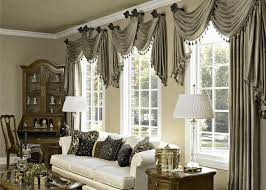bay window decorating ideas light brown furry rug comfy long black