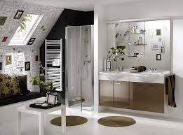 Wallpaper Ideas For Bathroom by Fabulous Wallpaper In A Bathroom In Decorating Home Ideas With