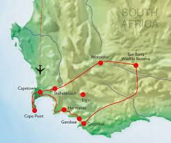 Map Of Cape Town South Africa by South Africa U2013 The Western Cape U2013 Exceptional Gardens And Private