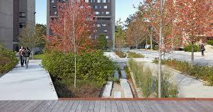 Southwest Landscape Design by Stephen Stimson Associates University Of Massachusetts Plaza