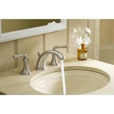 Ceramic Bathroom Fixtures by Kohler K 394 4 Bn Devonshire Vibrant Brushed Nickel Two Handle