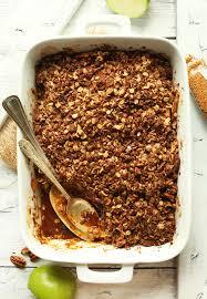 top 10 thanksgiving desserts best vegan apple crisp minimalist baker recipes