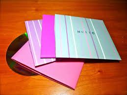 Origami Cd Cover - diy instant origami cd envelopes