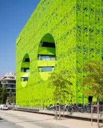 jakob macfarlane u0027s green cube for euronews opens in lyon