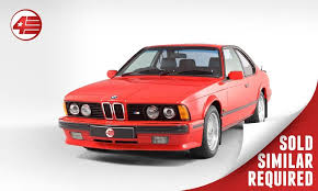 bmw m635csi for sale uk 1989 bmw m6 m635 c si motorsport edition for sale cars