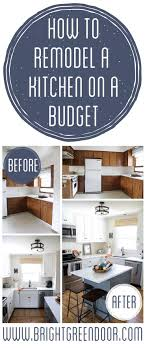 easy kitchen makeover ideas best 25 budget kitchen remodel ideas on cheap kitchen