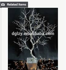 Wedding Tree Centerpieces Near Natural Manzanita Tree For Wedding Table Wedding Decoration