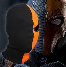 halloween store panama city fl single eyed game face mask deathstroke rib fabrics terminator