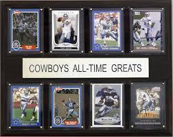 Dallas Cowboys Home Decor Amazon Com Nfl Dallas Cowboys All Time Greats Plaque Art May