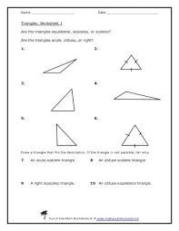 naming triangles worksheet geometry day 3 worksheet classify the following triangles based