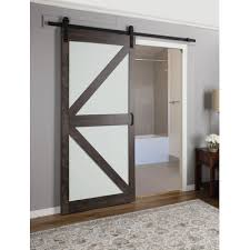 Erias Home Designs Continental Frosted Glass  Panel Ironage - Erias home designs