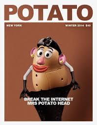 Funny Potato Memes - 16 of the best kim kardashian break the internet ass memes