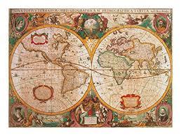 Nova Map Antique Map Puzzle 1000 Pieces By Clementoni