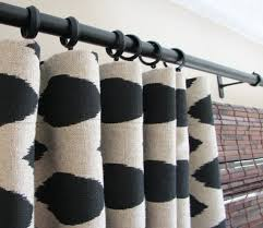 curtains ideas black ikat curtains inspiring pictures of