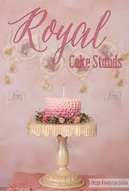 royal birthday cake stands