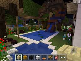treehouse fortas with water slide in my backyard other minecraft