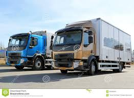 new volvo commercial new volvo fe and fl trucks editorial stock image image 40066634