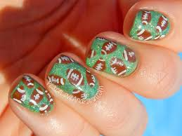 football nail art design youtube 25 best ideas about football