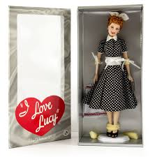 Lucille Ball I Love Lucy I Love Lucy Lucille Ball Vinyl Portrait Doll By Franklin Mint