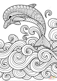 lovely coloring pages of ocean animals coloring page 4