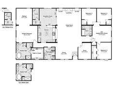 Triple Wide Floor Plans 4 Bedroom Mobile Home Plans Bedroom Double Wide Mobile Home