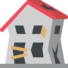 house emoji derelict house emoji