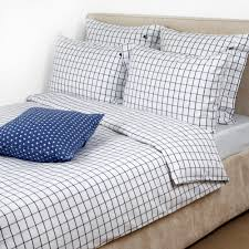 buy lexington american country pinpoint check duvet cover navy