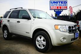 Ford Escape Suv - 2008 ford escape awd xlt 4dr suv v6 in anchorage ak united auto