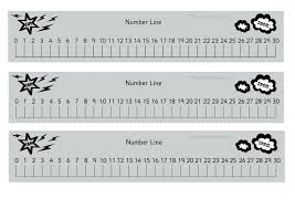 printable numbers lines printable number lines 0 30 seven photo