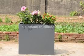 vertical wall garden planter tall rectangular planter giant flower