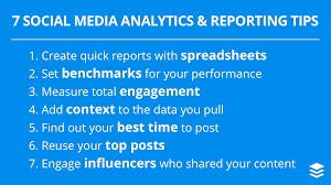 Social Media Analytics Spreadsheet by 7 Social Media Analytics And Reporting Tips For Becoming A Data