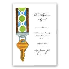house key moving announcement cards clearance paperstyle