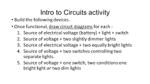 electricity u0026 circuits ppt video online download