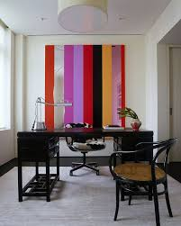 Home Office Decorating Ideas On A Budget 10 Striped Home Office Accent Wall Ideas Inspirations