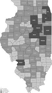 Illinois Counties Map by Uglybridges Com Illinois Coverage Map