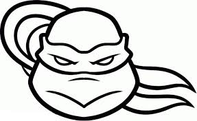 drawing tmnt face coloring pages cartoon art tmnt coloring