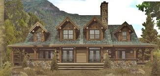 Cottage House Plans With Wrap Around Porch Bright Ideas Log Cabin House Plans Wrap Around Porch 11 Home Less