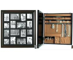 jewelry box photo frame hanging jewelry box picture frame jewelry box wall mount style