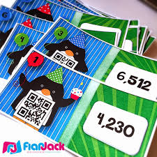 thanksgiving internet scavenger hunt flapjack educational resources party penguins multiplication qr