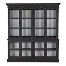Bookcase With Doors Black Shop Bookcases Storage Display Ethan Allen