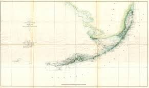 Florida Coast Map File 1859 U S Coast Survey Triangulation Map Of The Florida Keys